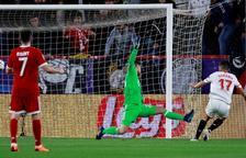 El Sevilla marca primer però el Bayern remunta a la segona meitat