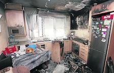 Aparatosos incendis a Alcoletge i Guissona