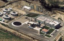 La planta d'assecatge de purins d'Alcarràs, que es prepara per tornar a obrir d'aquí a uns quatre mesos.