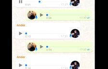 Un vídeo amb dos narradors esportius intentant quedar a través de WhatsApp es viralitza