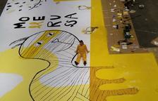 Un mural de Mercè Galí dóna la benvinguda al Saló del Llibre
