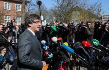 La Fiscalía alemana informa de que no puede recurrir la decisión sobre Puigdemont