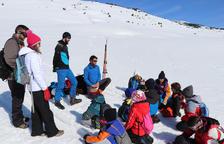 Lliçons de seguretat a la neu per a escolars