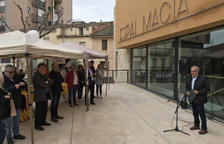 Aniversario de la República Catalana en el Espai Macià