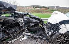 Fallece un chófer andorrano de 51 años en una colisión frontal en Torà