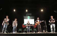 Un moment de l'actuació del grup Austral.