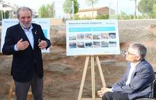 Inauguran el tanque contra las inundaciones de Torrefarrera