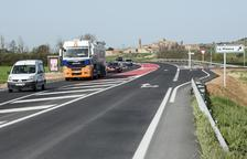 Lista la vía local entre Tàrrega y Guissona