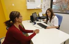 Imatge d'una visita al Centre d'Atenció Primària Primer de Maig, a la Mariola.