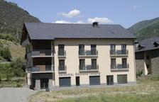 Imagen de archivo de los primeros pisos tutelados de Rialp.