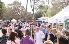 El Aplec del Castell del Remei reunió a más de una veintena de paradas de productos artesanos.