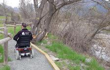 El camí adaptat per persones