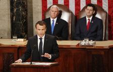 Macron alerta contra la guerra comercial i l'aïllacionisme dels EUA