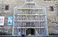 Restauran el pórtico barroco de Sant Ramon y volverán a exhibirlo en mayo