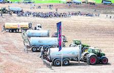Nuevas normas sobre purines obligarán a renovar 1.700 cisternas para verterlo