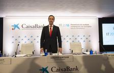 CaixaBank eleva el seu benefici un 74,7% en el trimestre, fins 704 milions