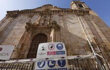 L'església d'Algerri no preveu reobrir en almenys 3 mesos