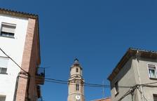 Obras de mejora en la calle Santa Vedruna de Les Borges