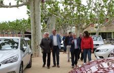 Les Borges inaugura su feria de coches de ocasión