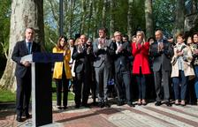 """Urkullu llama a fortalecer la paz y """"honrar"""" la memoria de las víctimas"""