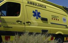 Dos ferits en un accident a Almacelles
