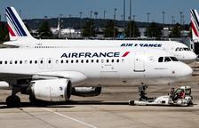 Air France es desploma davant la negativa de Macron a ajudar-la