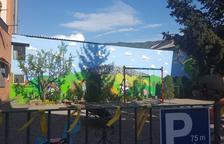 Nueva plaza 1 de Octubre en Ribera d'Urgellet