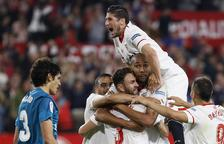 El Sevilla supera un Madrid al qual no va bastar la reacció final