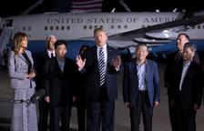 EUA i Pyongyang atansen postures després d'alliberar dels presos