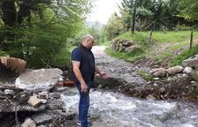 Quejas en Bossòst por daños por la rotura de una canalización