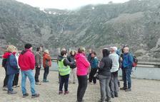 Fins a 60 persones en una ruta geològica al Jussà