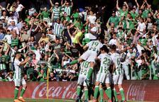 El Sevilla obté la plaça per a l'Europa League al derbi sevillà