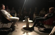 Un momento de la representación de 'El premi' de Cametes Teatre.