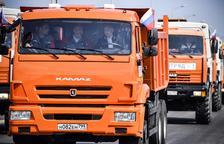 Putin inaugura el puente que une Crimea con Rusia