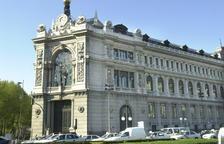 Imatge d'arxiu de la seu del Banc d'Espanya.