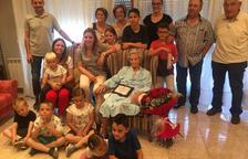 Soses homenajea a Dolors Sisó Casals por su centenario