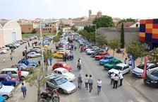 La Trobada de Vehicles Clàssics de Golmés reúne 160 coches
