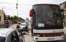 Usuaris del tren de la Pobla, en bus al Pallars