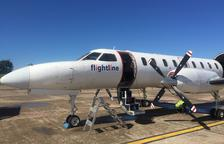 Una firma de transport aeri projecta obrir base a Alguaire i 'estrenar-lo' per a logística