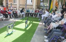 Setmana olímpica per als setanta usuaris de la residència de Bellpuig