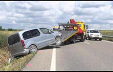 Accidente en Tarroja de Segarra