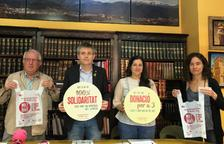 La presentació de la campanya a Solsona.