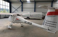 Una empresa construeix un nou hangar a la Seu per vendre planadors i avionetes