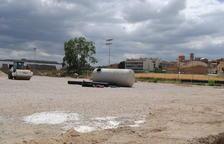 Golmés instala césped artificial en el campo de fútbol