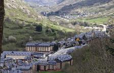Imatge de Vielha, que ha suspès la concessió de llicències als pisos turístics.