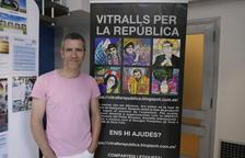 Presenten a l'Ateneu Popular el projecte 'Vitralls per la República'