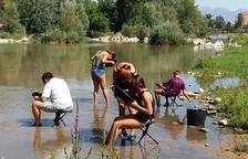 Més tallers per buscar or al riu Segre a la capital
