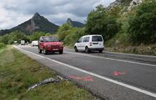Ferit greu un motorista en un accident a Juncosa