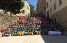 Cruz Roja acoge a más de cien niños leridanos en Olot