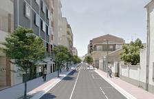 Vista virtual de la nova avinguda Catalunya de Mollerussa.